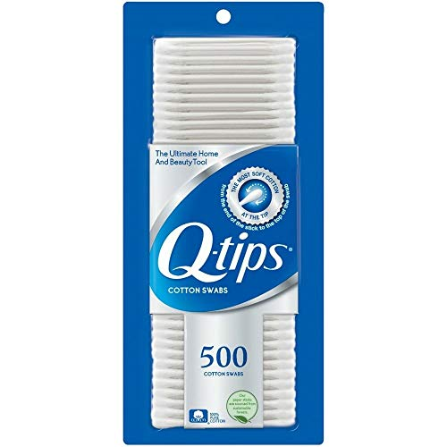 Price comparison product image Q-tips Cotton Swabs 500 ea (Pack of 2)