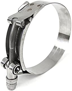 HPS (SSTC-83-91) 83mm - 91mm Stainless Steel T-Bolt Clamp for 3