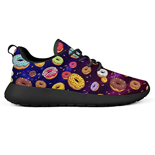 Apxoh Women Foams Running Shoes Doughnuts Donut Jumping with Happiness Breathable Rubber Walking Shoes Trendy Sneakers