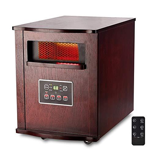 Optimus H-8010 Infrared Quartz Heater
