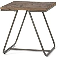 Simpli Home Hailey Wood & Metal 20