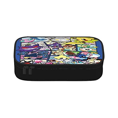 Bolsas de maquillaje portátil Pokemon para mujer, bolsa de cosméticos lavable, bolsa de viaje de belleza con cremallera