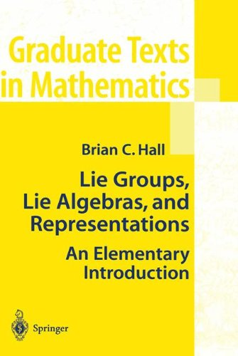 Lie Groups, Lie Algebras, and Representations: An Elementary Introduction (Graduate Texts in Mathematics)