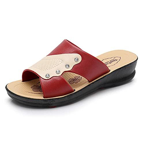 Kirin-1 Zapatillas De Casa para Mujer Verano,Zapatillas De Novia,Mujeres De Verano para...