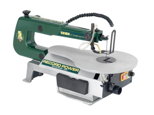 Record Power SS16V Scroll Saw 16-inch