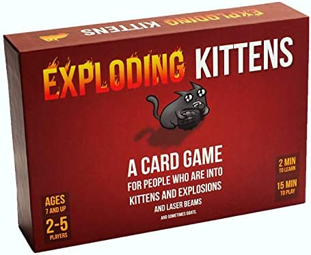 Up to 50% off on Games from Exploding Kittens, Cards Against...