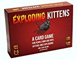 Exploding Kittens Card Game - Family-Friendly...