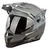 KLIM Krios Motorcycle Helmet ECE/DOT Adult 2XL Covert Cool Gray