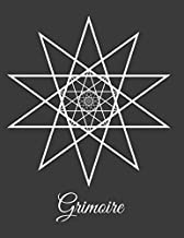 Grimoire: Grimoire - keep track of your rituals and spells in this easy to follow template diary - click look inside! Great Gift for any Wiccan MaGes Druids or new aGe maGic practitioners.