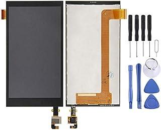 مجموعة الهاتف الخلوي Lingland شاشة LCD + لوحة لمس لهاتف HTC Desire 620G Dual SIM (أسود) التجميع الكلي للشاشة (اللون: أسود)