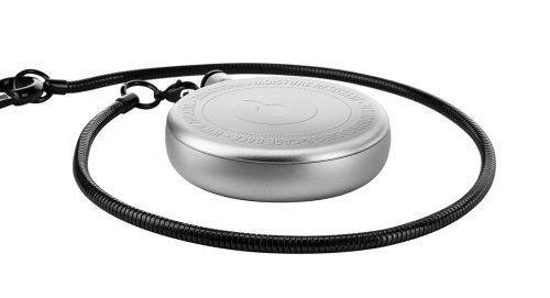 ZIIIRO Pocket Watch - Titan - Chrome