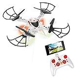 Xtrem Raiders-Xtream Raiders-Stellar-Juguete para niños, Drone con despegue y Aterrizaje automático y estabilizador de altitud XT280890