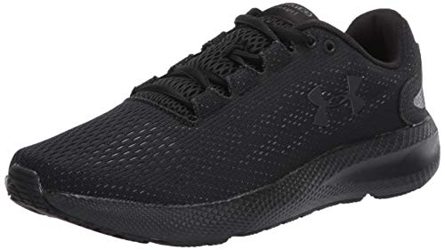 Under Armour UA Charged Pursuit 2, Calzado De Hombre, Zapatillas para Correr, Negro (Black/Black/Black (003) 003), 44.5 EU