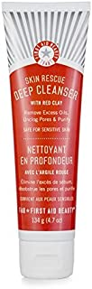 First Aid Beauty Skin Rescue Deep Cleanser with Red Clay, 4.7 oz