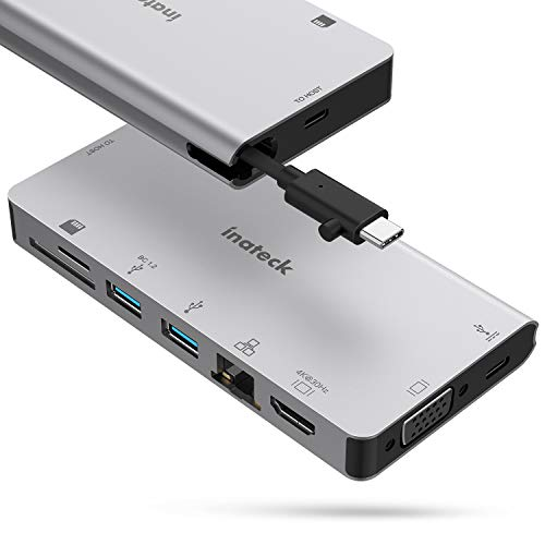 Inateck - Hub USB C 8 Puertos USB C