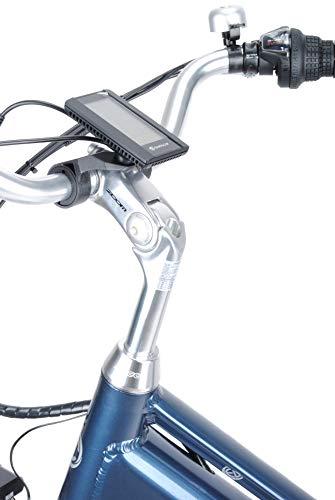 41OVMcqyf6L - smartEC TrekX-MD Trekking Pedelec E-Bike 26 Zoll Elektrofahrrad, leistungsstarker Mittelmotor mit Samsung Li-Akku 14AH, 7 Gänge, max. Fahrunterstützung bis 25 km/h