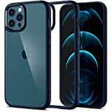 Spigen Cover Ultra Hybrid Compatibile con iPhone 12 PRO Max - Navy Blue