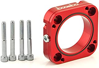 Boomba Racing THROTTLE BODY SPACER RED for 2014+ Ford Fiesta ST