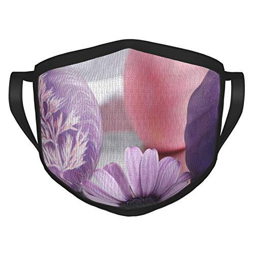 Ostern Wiederverwendbare schwarze Gesichtsmaske für Erwachsene, atmungsaktiv, bequem, waschbar, Polyester