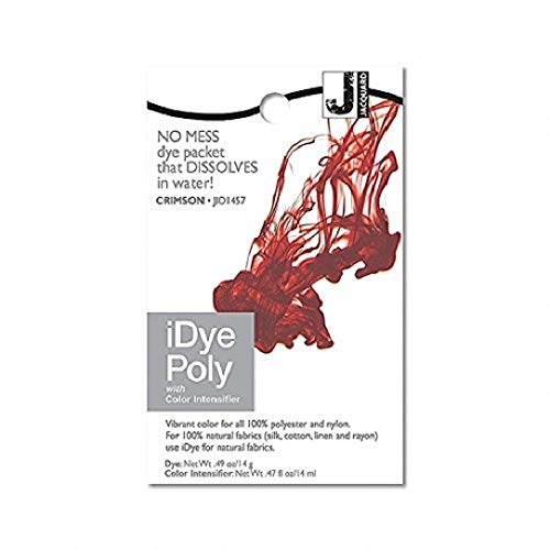 iDye Poly Crimson - For Polyester And Nylon Fabrics