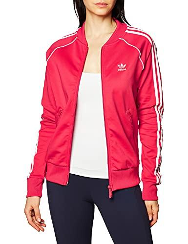 adidas SST Tracktop PB Sudadera, Mujer, Rosa (Power Pink/White), 44