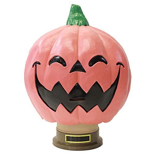 ラバーマスク M2 ハロウィン かぼちゃ パンプキン マスク ニコニコ かぼちゃん レア ピンク ラテックス製