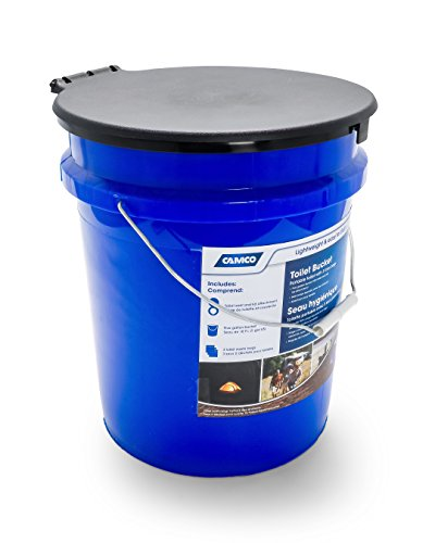 Camco 41549 Toilet Bucket Kit with Seat,1 Pack 4