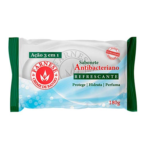 Sabonete Antbac Refrescante 180G, Farnese, Pequeno