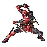 X-Men Deadpool Figuras Variante Superhéroes Móviles Figuras De Acción Modelo Estatua con Armas Niños Juguetes De Regalo DIY 16Cm