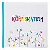 Goldbuch Fotoalbum für die Konfirmation, Regenbogen, 25x25 cm, 60 weiße Seiten, 4 Seiten Textvorspann, Kunstdruck, Weiß/Bunt, 03 029
