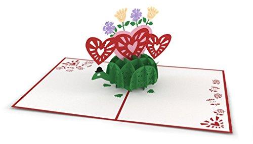Lovepop Love Turtle pop up 3D greeting card