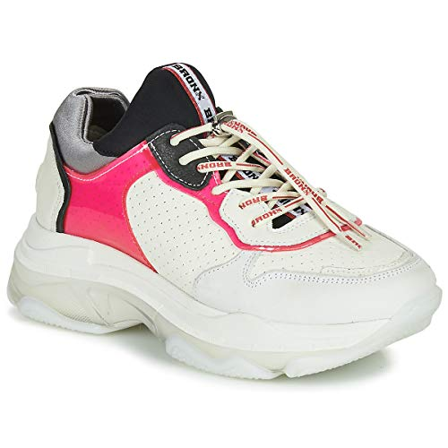 BRONX BAISLEY Sneakers dames Wit/Roze Lage sneakers