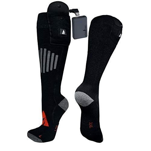 ActionHeat 5V Battery Heated Socks - Wool