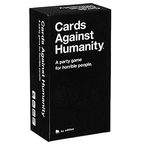 SANLAI Cards Against Humanity Un Juego de Fiesta Juegos de Mesa Gente Horrible Año Nuevo Navidad Juegos de Fiesta para Toda la Familia Juegos de Cartas Edición AU 2.0 - Juegos de Fiesta para Adultos