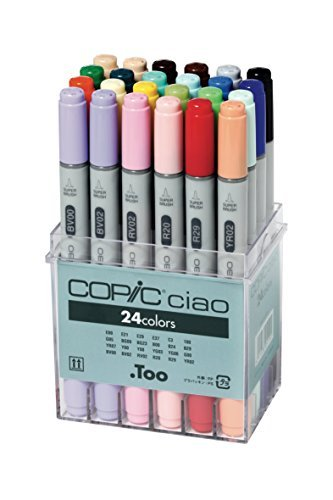 Copic Ciao Markers 24pc Basic Set by Copic Markers