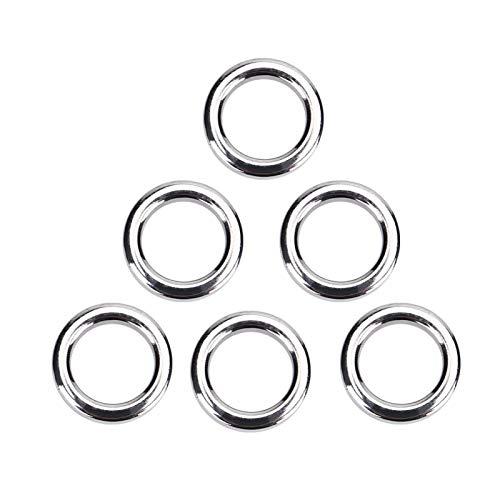 Conector de anillo partido ligero de acero inoxidable de alta calidad de...