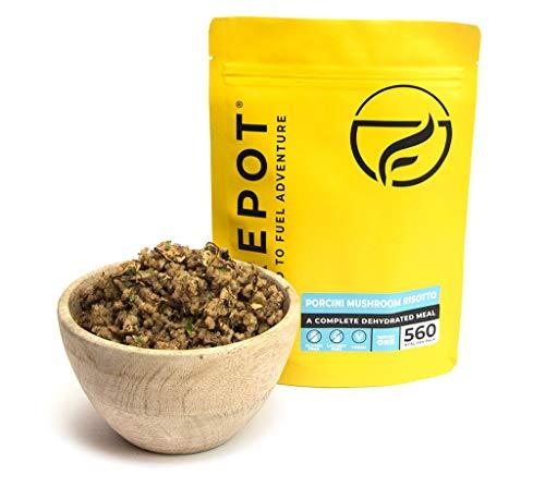 FIREPOT by Outdoorfood - Risotto aux cèpes (Standard) - des Aliments déshydratés et sains pour Bien Manger en expédition