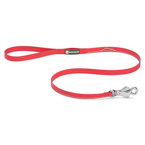 Ruffwear Wasserdichte Hundeleine, Alle Hunderassen, Länge: 1,2 m, Breite: 20 mm, Rot (Red Currant), Headwater Leash, 4070-615