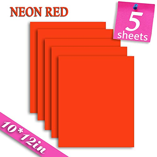 Heat Transfer Vinyl HTV Bundle Variety Pack Assortment for T Shirts Fabric 12x10' 26 Sheets Iron On...