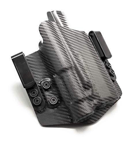 Neptune Concealment Kydex Gun Holster for FNS9C - Light / Laser Bearing Nestor Series IWB or OWB - Veteran Made USA
