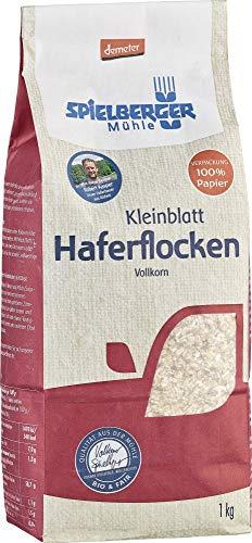 Spielberger Bio Haferflocken Kleinblatt, demeter (2 x 1 kg)