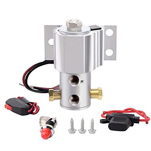 Brake Line Lock SPELAB Universal Launch Control Electric Solenoid Kit Hill Holder Silver