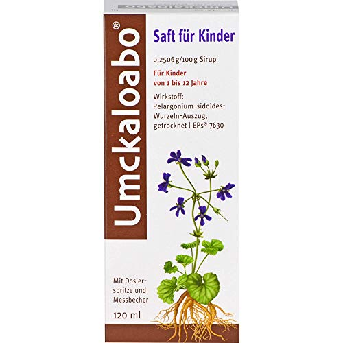 Umckaloabo für Kinder Saft, 120 ml Lösung