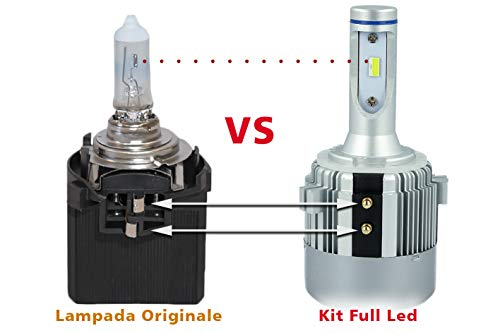CARALL LH0740 Kit Full Led Canbus H7 Specifico Anabbagliante 40W 12V