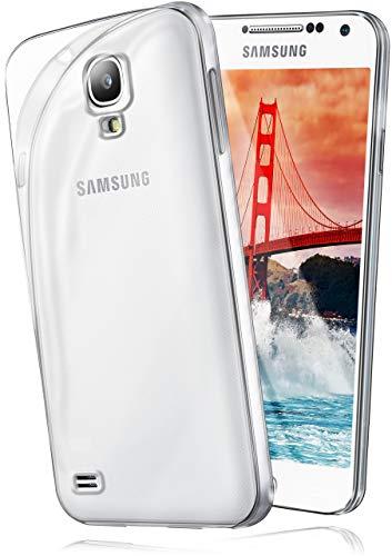 MoEx Coque Transparente Compatible avec Samsung Galaxy S4 Mini | antidérapante/très Fine, Transparent