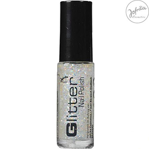 Jofrika Cosmetics Glitter Nail Polish Regenbogen