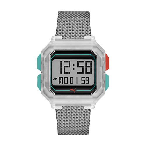 Puma Reloj Digital para Mujer de Cuarzo con Correa en Silicona 1