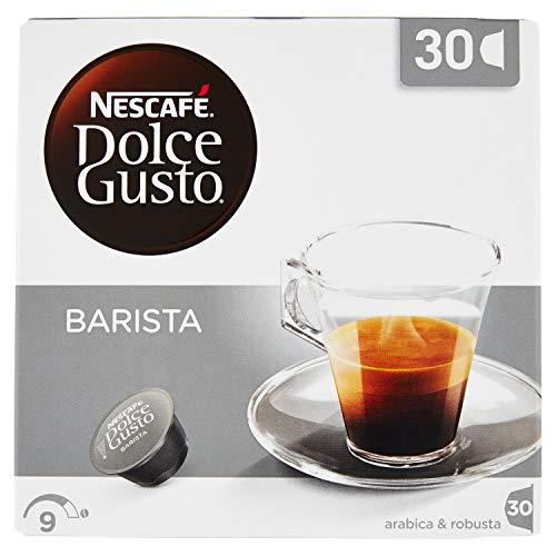 30 Cialde Capsule Nescafe' Dolce Gusto Caffe' Espresso Barista Magnum Originali