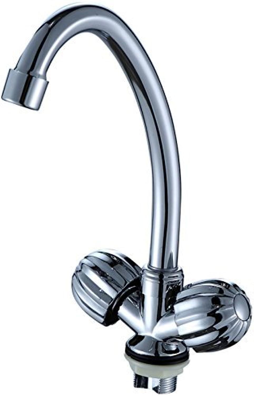 Mit doppelgriff Einloch Küche Wasserhahn durch Zink Legierung Küche Mischbatterie