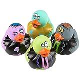 Rhode Island Novelty 2 Inch Zombie Rubber Duckies (12 Piece)
